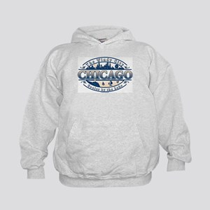 Chicago Oval Kids Hoodie