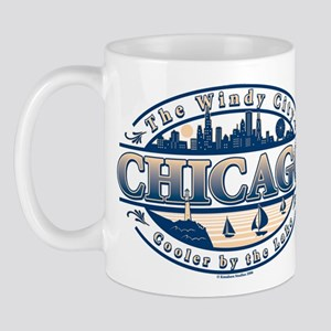 Chicago Oval Mug