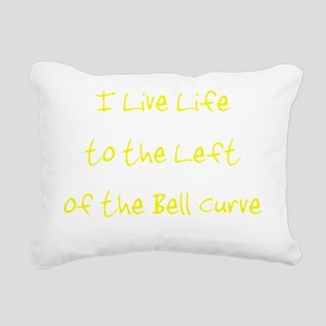 leftofthebellcurvetransu Rectangular Canvas Pillow