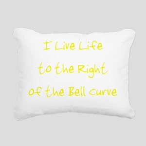 rightofthebellcurveusetr Rectangular Canvas Pillow