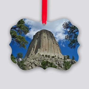 Photography, Devils Tower, Framed Picture Ornament
