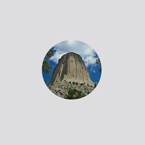 Photography, Devils Tower, Framed Prin Mini Button