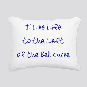 leftofthebellcurveuse Rectangular Canvas Pillow
