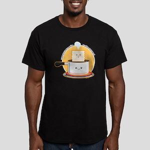 Make-ramen Men's Fitted T-Shirt (dark)