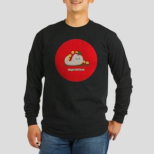 Rock-ornament Long Sleeve Dark T-Shirt