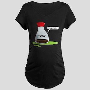 Soywhat Maternity Dark T-Shirt