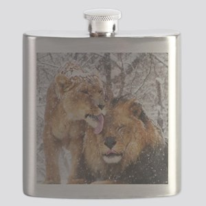 winter lions Flask