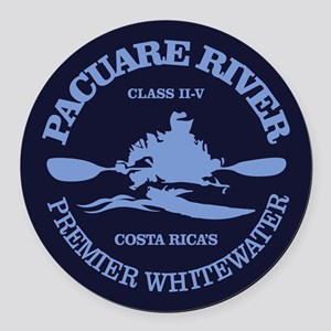 Pacuare River Round Car Magnet