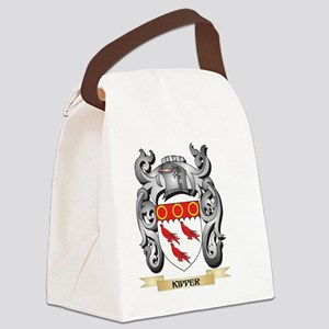 Kirby Coat of Arms - Family Crest Canvas Lunch Bag