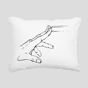 Defense-(Large) Rectangular Canvas Pillow