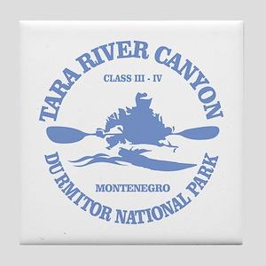 Tara River Canyon Tile Coaster