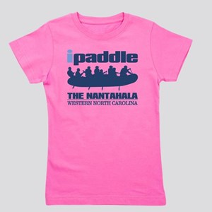 ipaddle raft (Nantahala) Girl's Tee