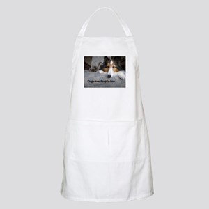 Dogs Are People Too Apron