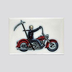 Death Rider Rectangle Magnet