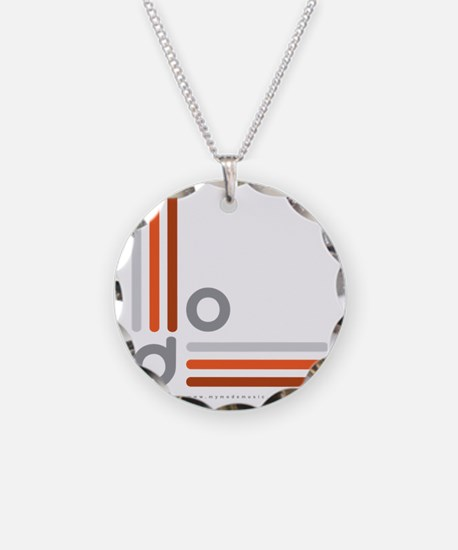 Mode Logo_Ext_grys-orng-grad Necklace