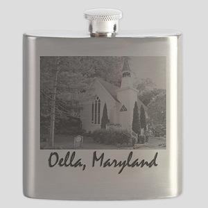 Oella, Maryland Flask