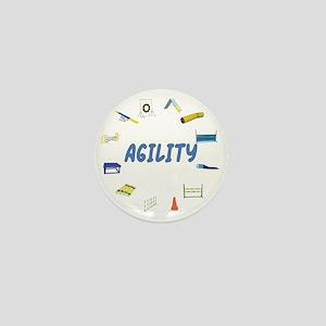 Agility Equipment Circle Mini Button