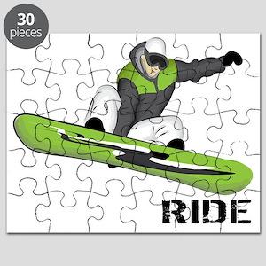 SnowboarderBack Puzzle