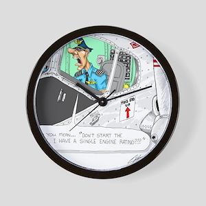 Airline Mug Wall Clock