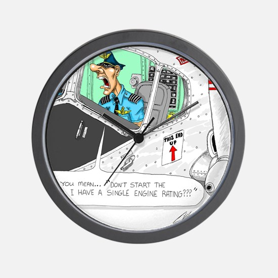 Airline Mug Wall Clock