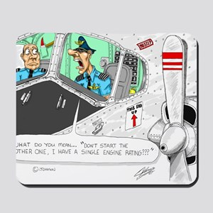 Airline Mug Mousepad