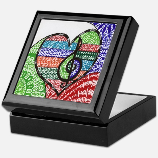 Music is a Song in Your Heart Keepsake Box