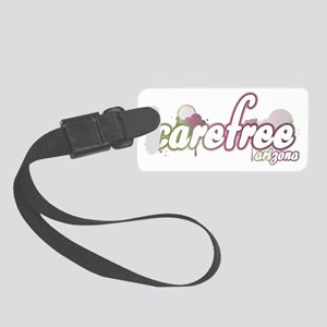 carefreewhite copy Small Luggage Tag