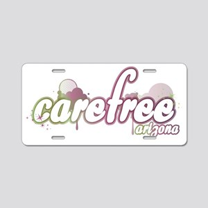 carefreewhite copy Aluminum License Plate