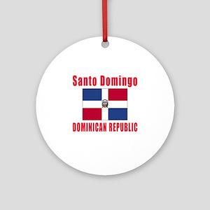 Santo Domingo Dominican Republic Designs Ornament