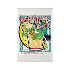 Gecko Charlies Margarita bar Rectangle Magnet (100