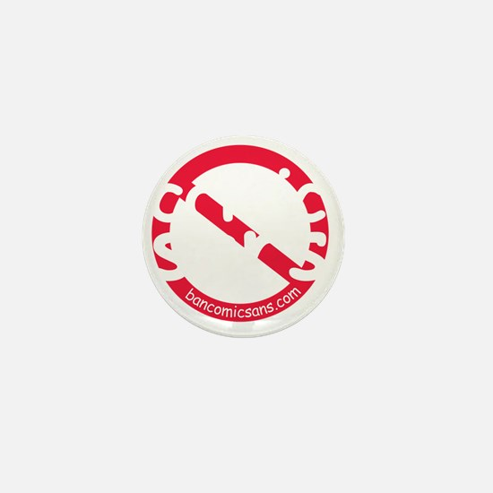 nocomicsans_dark_bg Mini Button