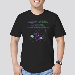 like a star 4 Men's Fitted T-Shirt (dark)