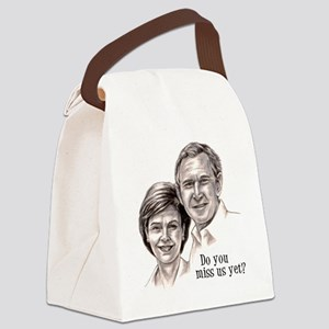 George  Laura 2 Canvas Lunch Bag