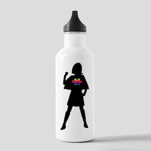 SpectrumSuperHeroV1b Stainless Water Bottle 1.0L