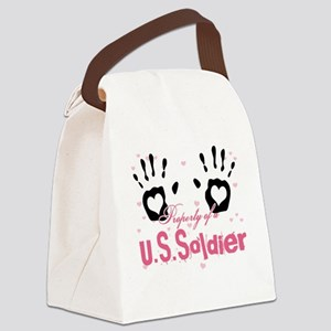 new property of us soldier Canvas Lunch Bag