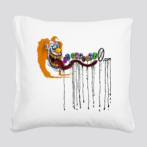 sweetooth0shirt Square Canvas Pillow