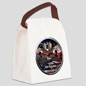 NOT FORGOTTEN Canvas Lunch Bag