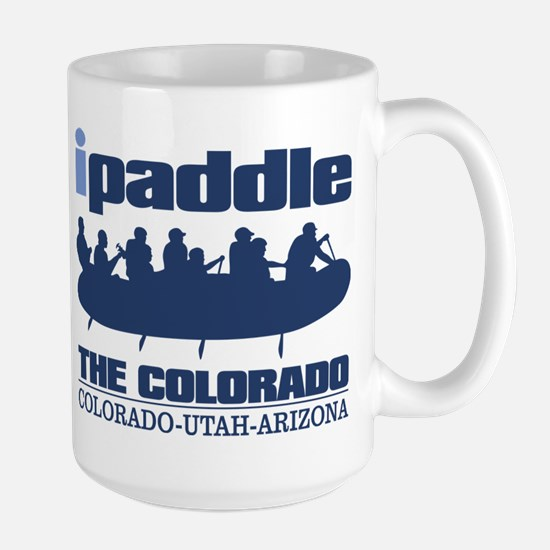 ipaddle raft (Colorado River) Mugs