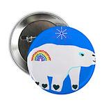 "Polar Bear 2.25"" Button (100 pack)"