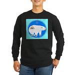 Polar Bear Long Sleeve Dark T-Shirt