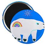 """Polar Bear 2.25"""" Magnet (100 pack)"""