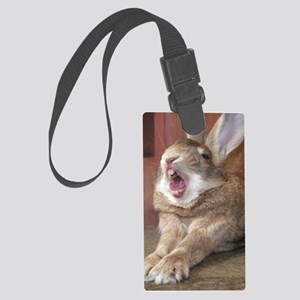 HB028-OzzyYawn Large Luggage Tag