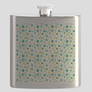 Wendell Dot Pattern Flask