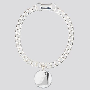 Wedding day Charm Bracelet, One Charm