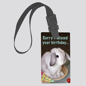 2-HB014-Belated Large Luggage Tag