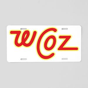 wcoz Aluminum License Plate