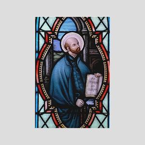 St Ignatius Loyola Rectangle Magnet