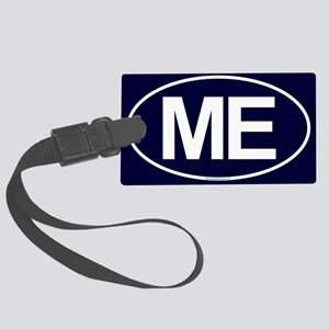 2-ME Oval Large Luggage Tag
