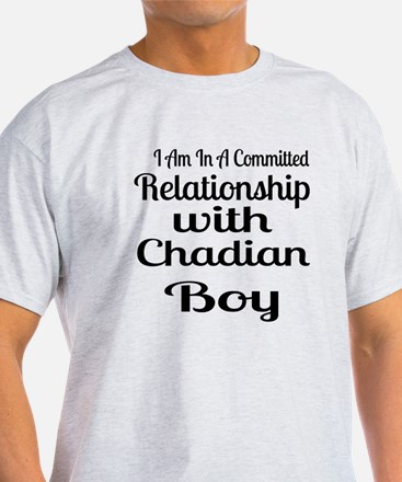 I Am In Relationship With Chadian Bo T-Shirt