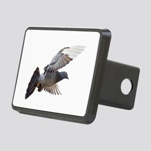 pigeon fly to love joy peace Rectangular Hitch Cov